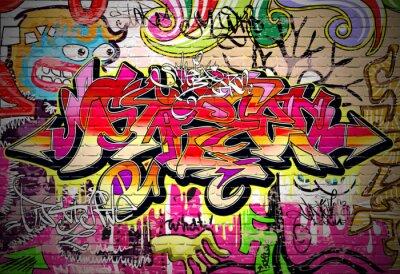 Картина Граффити Арт Вектор фон