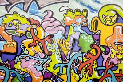 Картина Граффити AUX Couleurs Вивес
