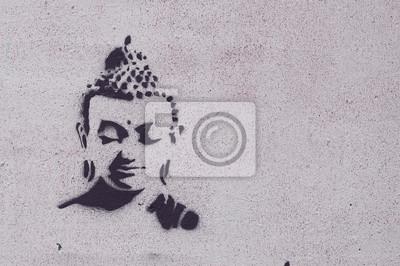 Картина Graffiti bouddha