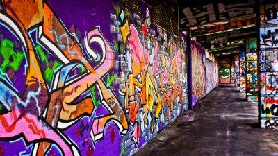 Картина Граффити Ган