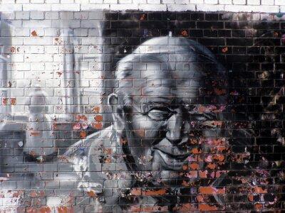 Картина граффити религия