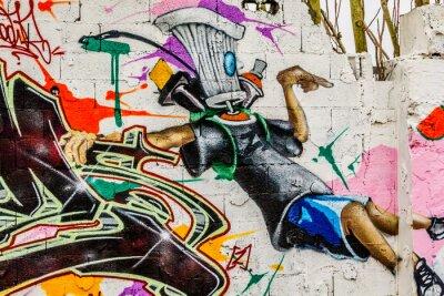 Картина Graffiti Street Art