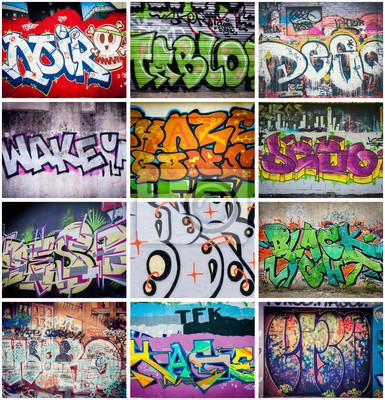 Картина Граффити Couleurs