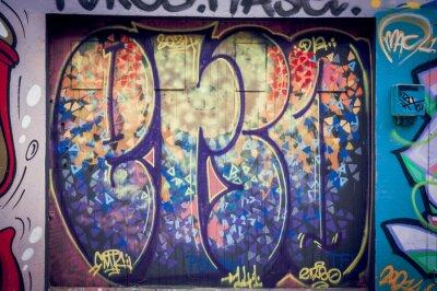 Картина Граффити Couleurs pétantes