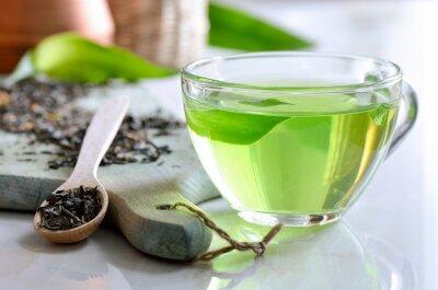 Картина Зеленый чай спа