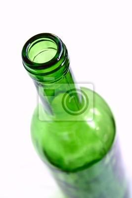 Зеленый бутылка вина