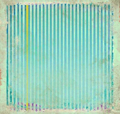 Картина Гранж синий полосатый фон