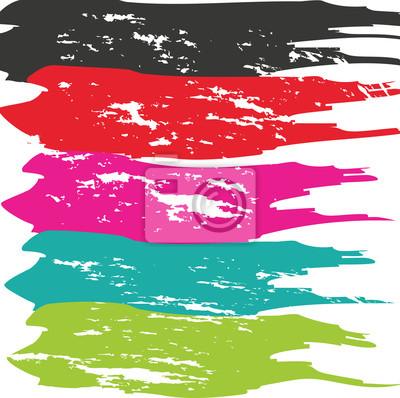 Картина Grunge Brush Stroke. Вектор кисти инсульта. Проблемные Brush Stroke. Мазок кисти. Dry Brush Stroke.