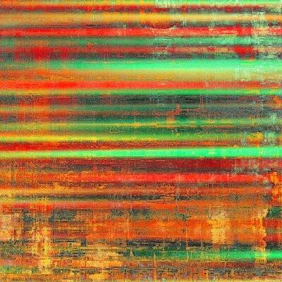 Картина Гранж красочный фон. С различных цветовых моделей: желтый (бежевый); красный апельсин); зеленый; черный