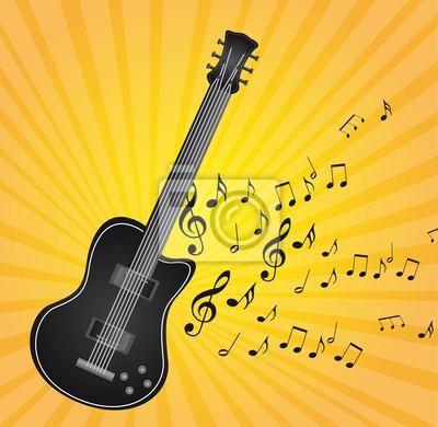 гитара вектор