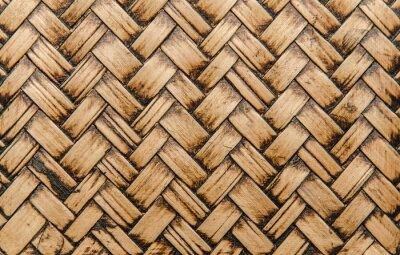 Картина рукоделие бамбука переплетения текстуры для фона