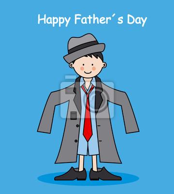 День карты вектор Happy отца