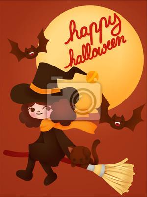 Счастливый Хэллоуин карты