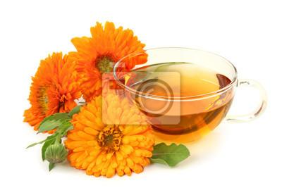 Травяной чай календулы