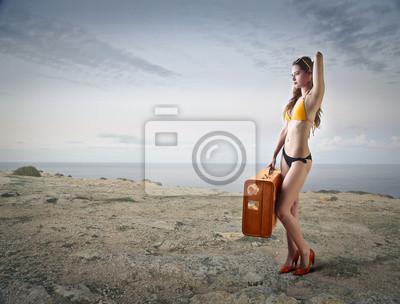 Картина High heels at the beach