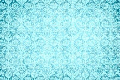 Картина hintergrund - blauer prunk