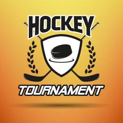 Картина Хоккей Этикетка