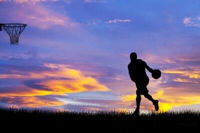 Картина Hombre Jugando Baloncesto