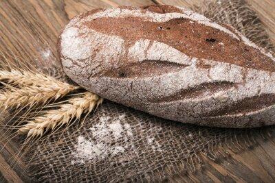 Картина Домашний хлеб, крупным планом