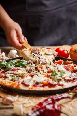 Картина Домашняя пицца