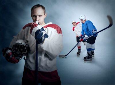 Картина Момент Хоккей игра