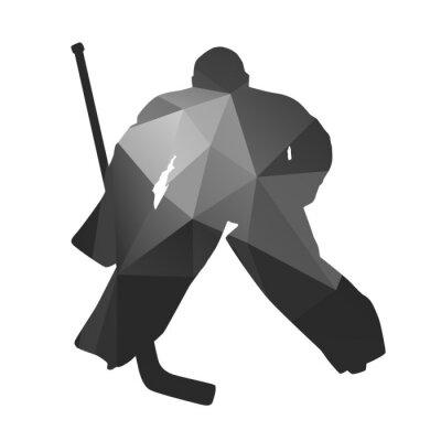 Картина Хоккейный вратарь