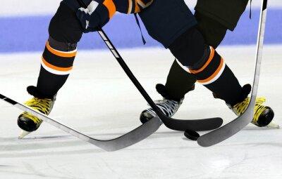 Картина Хоккеисты на катке