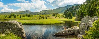 Картина Идиллия летний пейзаж