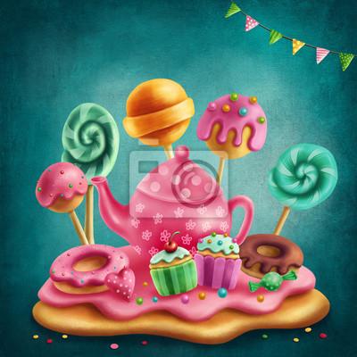 Иллюстрация сладкой земли