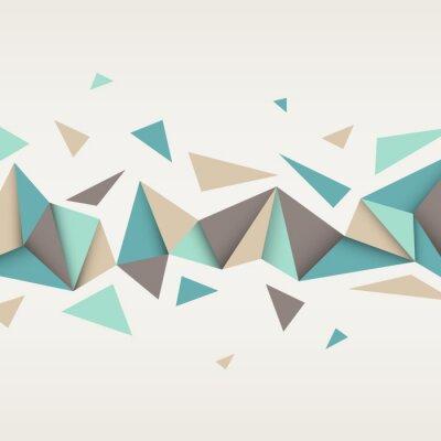 Картина Иллюстрация абстрактные текстуры с треугольниками.
