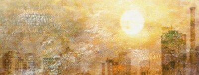 Картина Впечатление Город Солнца