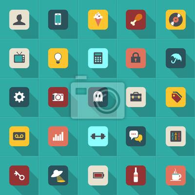 Информация иконки для мобильных устройств и интерфейсов