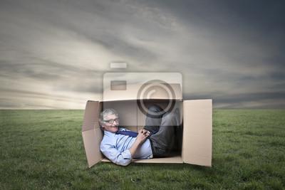 Картина Внутри коробки
