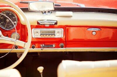 Картина Interno авто старинные