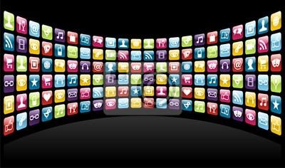Фон IPhone App иконки