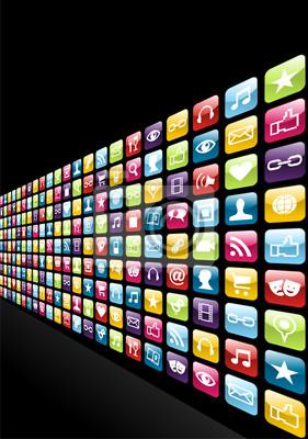 Iphone App иконы установить фон