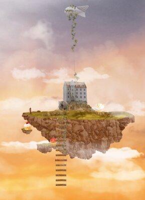 Картина Остров в небе