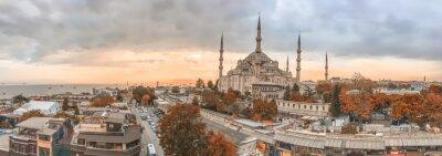 Картина Стамбул - город панорамный горизонт