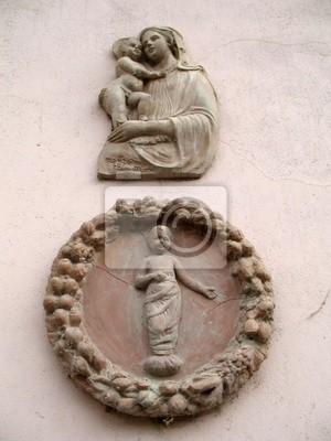 Italie, Dolce аква, Fresque Murale