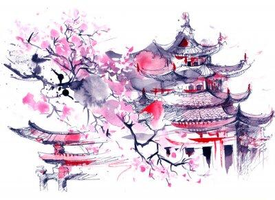 Картина Япония