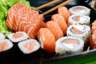 Картина Японская еда - суши