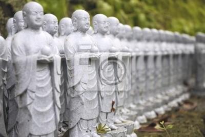 Японские Дзидзо скульптуры