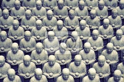 Японская Дзидзо скульптуры