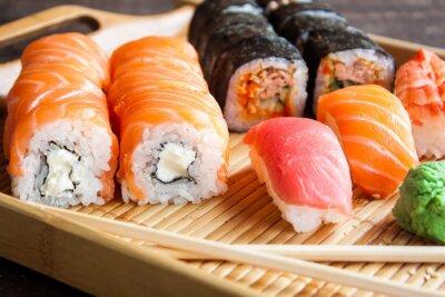 Картина Японский набор суши
