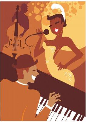 Картина Джазовый концерт