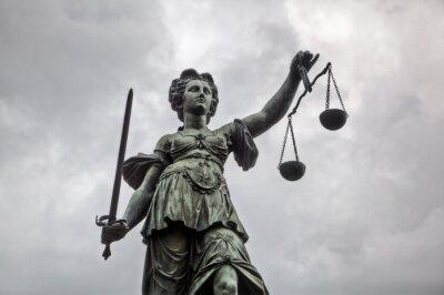 Картина Юстиция Статуя во Франкфурте-на-Майне