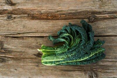 Картина Kale или листьев капусты