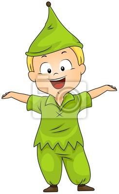 Малыш в Dwarf костюм