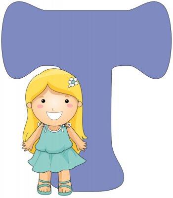 Картина Детский алфавит