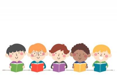 Kids Boys Book Illustration